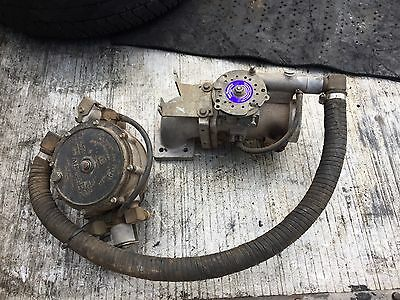 commodore/ford v8 Gas Research throttle body and gas converter