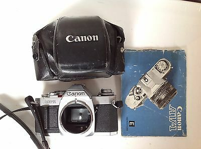 Vintage Canon AV-1 35mm SLR Film Camera Body Only, Manual