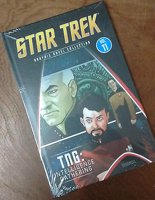 Star Trek Graphic Novel Collection Volume #11 TNG: Intelligence Gathering