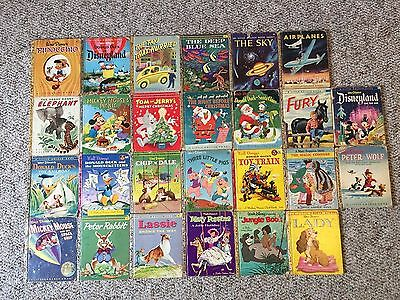 Collection of Little Golden Books from the 1950's, Lot of 26