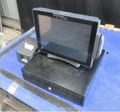 "Complete POS System-J2 680TFR-G540 Touch Screen 15"" / Star TSP100/ Cash Register"