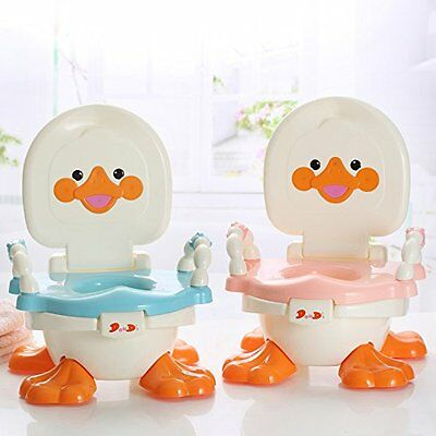 3-in-1 Potty Chair for Boys, Girls – Fun Baby Travel Toilet Trainer Converts f