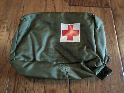 U.s Military First Aid Kit Pouch General Purpose Vehicle Or Aircraft Attachments