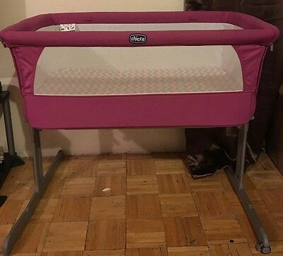 Chicco Next 2 Me Bedside Co-Sleep Baby Crib / Cot bed BRAND NEW