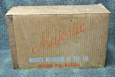 Vintage  Majestic Model 1A50A Cabinet Unused NOS IN THE BOX