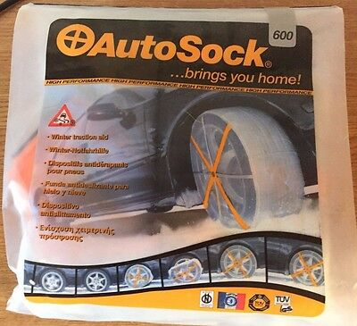 BNIP Autosock 600, new condition, Winter traction aid