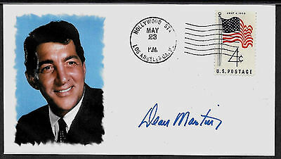 Dean Martin Rat Pack Limited Edition Collector's Envelope Repro Autograph *A980