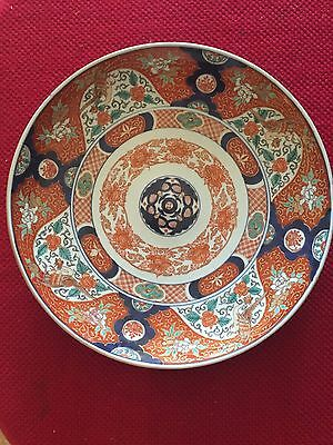 JAPANESE IMARI EARLY 16.5 Inch MEIJI 19TH CENTURY CHARGER GiLDED SIGNED