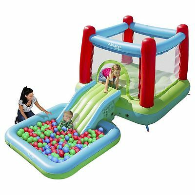 NEW Airpro Bouncy Castle with Slide & Pool, Swimming Pool For Kids