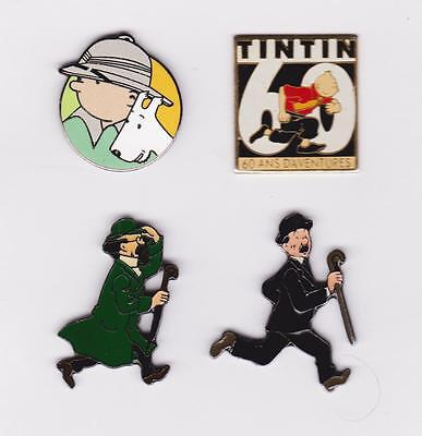JOLI LOT DE 4  BD  tintin pin