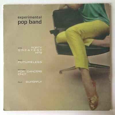 """EXPERIMENTAL POP BAND - FORTY GREATEST HITS - Orig UK 12"""" EP Cup Of Tea Record"""