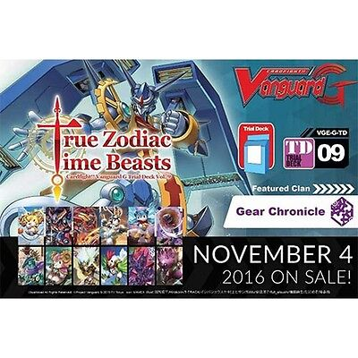 Cardfight Vanguard TCG True Zodiac Time Beasts Trial Deck - Brand New!