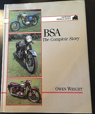 BSA The Complete Story Owen Wright