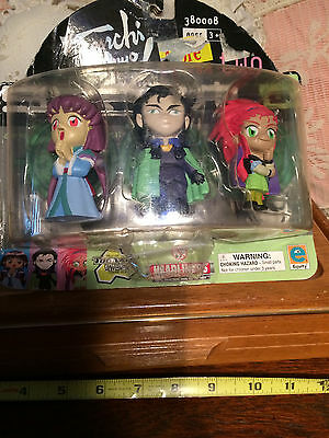 Tenchi Muyo 3 character Figurine set Washu, Ayeka and Kagato