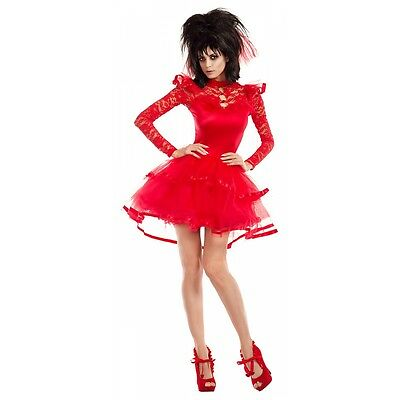 Lydia Deetz Costume Adult Beetlejuice Halloween Fancy Dress