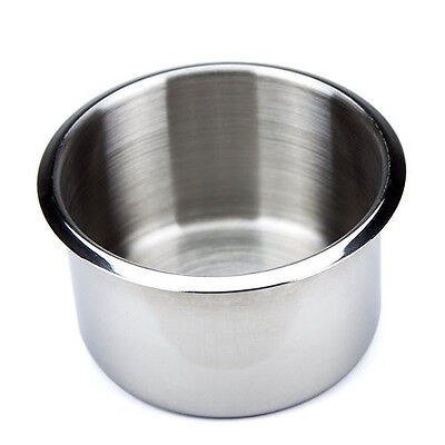 Brybelly Single Jumbo Stainless Steel Drop-In Cup Holder