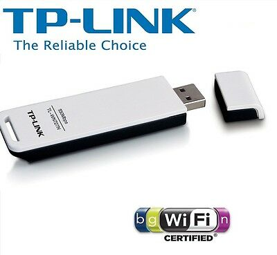 NEW TP-LINK TL-WN727N 802.11 USB WiFi Wireless Adapter Receiver