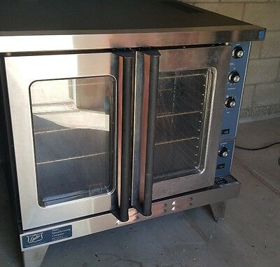 Duke E102-G USED Single Deck Natural Gas Convection Oven