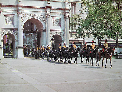 Military Postcard- Kings  Troop Royal Horse Artillery -Marble Arch