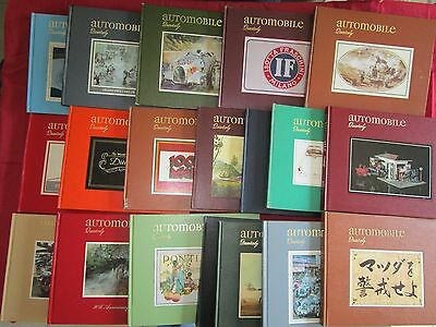automobile Quarterly ; 19 volume  de 1963 a 1986