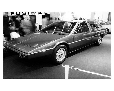 1975 Maserati Medici Concept Factory Photo Ital Design uc4973