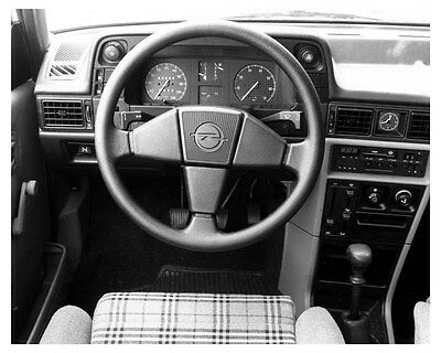 1983 Opel Kadett GT Interior Factory Photo uc5058