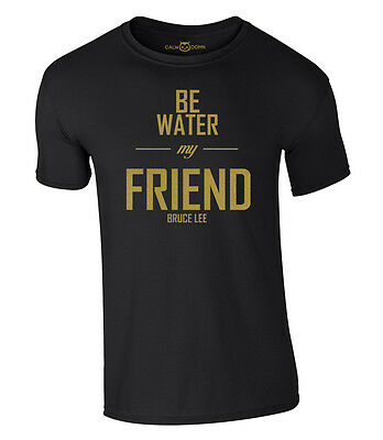 Bruce Lee Be Water My Friend T-Shirt Dragon NEU NEW | S-XXL