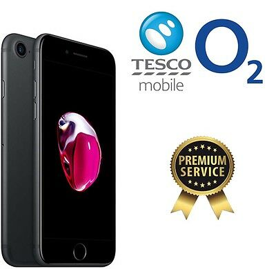 For iPhone 5 5S SE 6 6S 6S 7 7 +  PLUS Unlock Unlocking  for O2 Giffgaff TESCO