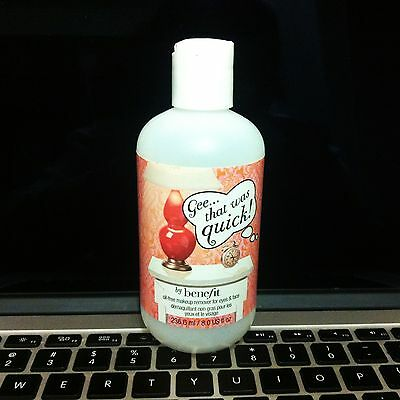 Only One! Vintage Benefit Cosmetics Make Up Remover BOTTLE Rare Collectible