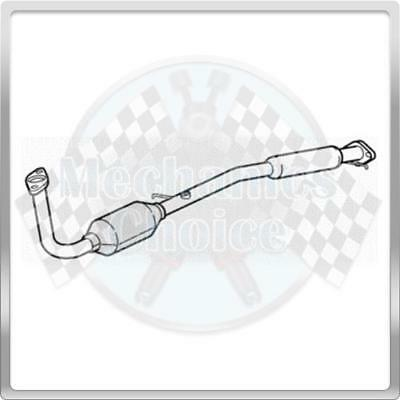 06//05-12//06 R103 Type Approved Catalytic Converter for Volkswagen Polo 1.2