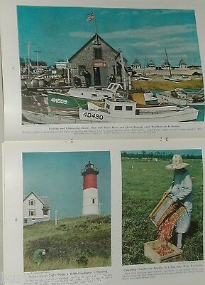 1946 magazine article about Cape Cod, history, people, towns etc. a quieter time