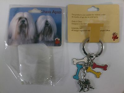 LITTLE GIFTS KEY CHAIN Lhasa Apso
