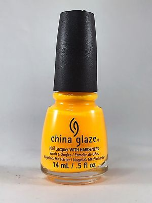 China Glaze Nail Polish Lacquer - SUN WORSHIPER 0.5 fl oz / 15ml