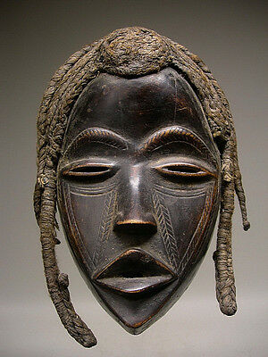 A Beautiful and OLD DAN DEANGLE MASK From Cote d'Ivoire