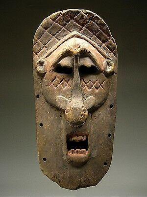 A  Fine LULA MASK From Dem. Rep. of Congo ~ RARE