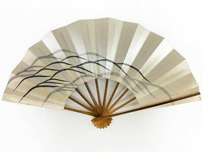 Vintage Japanese Geisha Odori 'Maiogi' Folding Dance Fan from Kyoto: MayIIP