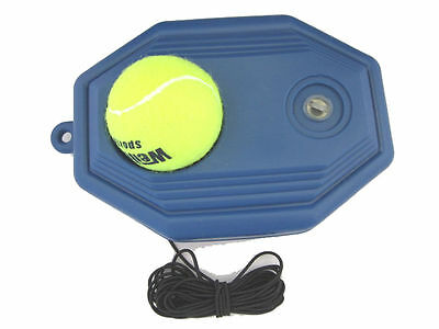 Portable Fill & Drill Base Tennis Trainer Tetherball Set