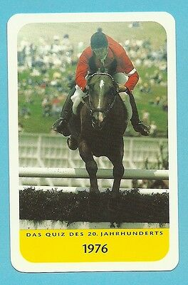 Alwin Schockemöhle Equestrian Horse Show Jumping Cool Collector Card Europe