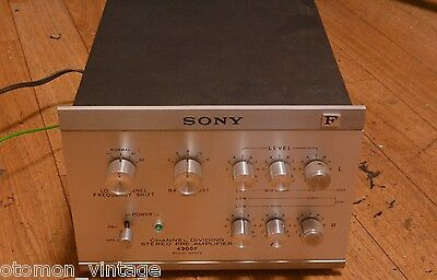 Sony 4300F electronic crossover FREQUENCY DIVIDING NETWORK * 100V-240V working