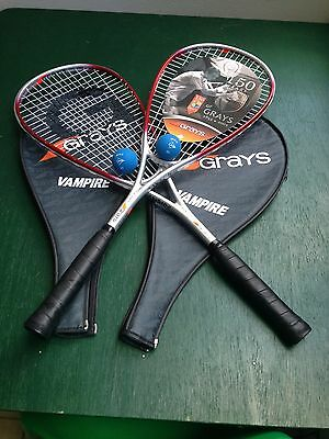 Grays Squash Racquets and Balls