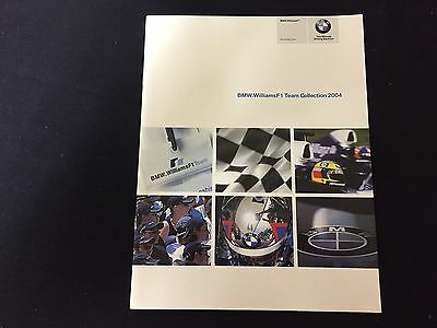 Rare 2004 BMW.Williams F1 Team Collection Brochure BMW.WilliamsF1