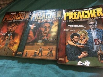 Volumes 1 & 2 (and 3) Of Preacher Graphic Novel