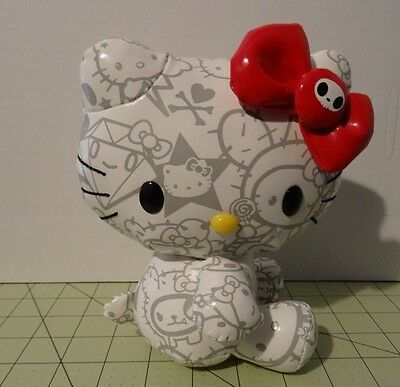 "Limited Edition Tokidoki For Hello Kitty 7.5"" White Vinyl Plush"