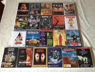 Bulk DVD Horror Action Drama Fast And The Furious One Flew Over Cuckoo's Nest