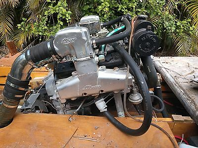 Mercruiser 350 5.7L Exhaust Manifolds with Risers