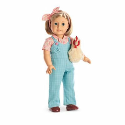 AMERICAN GIRL RETIRED KIT'S LIMITED EDITION CHICKEN KEEPING OUTFIT NIB - No Doll