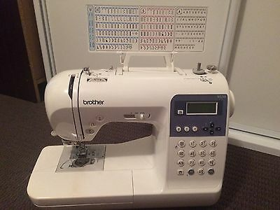 Brother NS50 Sewing Machine and Bernina 700D Overlocker/serger Together!!