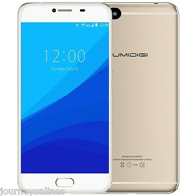 5.5'' UMIDIGI C Note Android 7.0 Smartphone FHD Screen Cellphone 4G LTE 3G+32GB