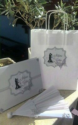 Wedding bag personalizzabile con stampa  sposi borsa strass