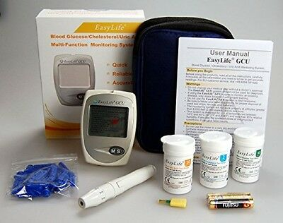 Blood Cholesterol Monitor kit 3 in 1 meter system, EasyLife Blood Cholesterol,